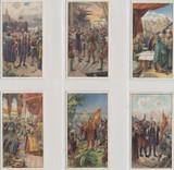 1905 Verkade Holland Series 69 Life Of Columbus Set Of 6 Ex  #*
