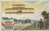 1905 Rich Schubert & Co Dresden, Germany Aviation Pioneers #6 Wrights Brothers Ex  #*