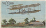 1905 Aecht Franck, Germany Aviation Pioneers #10 Wrights Brothers Ex  #*