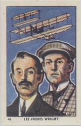 1930s History Of Flight France Coop #46 Orville & Wilbur Wright Ex-Mt  #*