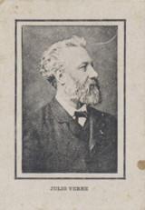 1900 Bastiana Barcelona, Spain Famous People B & W Photos Jules Verne vg  #*
