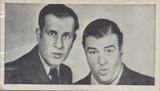 1948 ABC Nibors UK Film Stars #10 Abbott & Costello Nr-Mt  #*