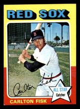 1975 Topps Mini #80 Carlton Fisk AS Ex-Mint
