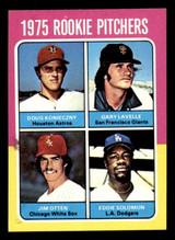 1975 Topps Mini #624 Rookie Pitchers Gary Lavelle/Doug Konieczny/Jim Otten/Eddie Solomon Near Mint RC Rookie  ID: 313291