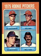 1975 Topps Mini #621 Rookie Pitchers John Denny/Rawly Eastwick/Jim Kern/Juan Veintidos Near Mint RC Rookie
