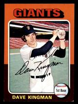 1975 Topps Mini #156 Dave Kingman Ex-Mint