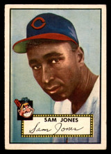 1952 Topps #382 Sam Jones Very Good RC Rookie High Number