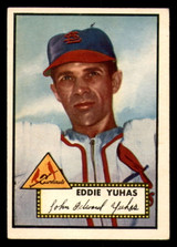 1952 Topps #386 Eddie Yuhas Excellent+ RC Rookie High Number