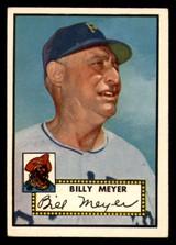1952 Topps #387 Billy Meyer MG VG-EX High Number