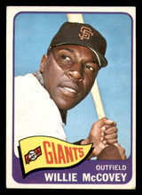 1965 Topps #176 Willie McCovey UER Excellent  ID: 313601