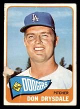 1965 Topps #260 Don Drysdale G-VG  ID: 313604