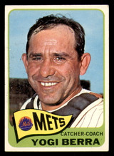 1965 Topps #470 Yogi Berra Excellent  ID: 313609
