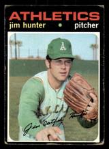 1971 Topps #45 Jim Hunter Good  ID: 313721