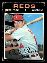 1971 Topps #100 Pete Rose Poor  ID: 313722