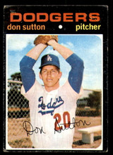 1971 Topps #361 Don Sutton Poor