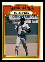 1972 Topps #300 Hank Aaron IA Excellent  ID: 313738