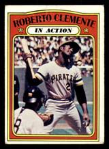 1972 Topps #310 Roberto Clemente IA Good  ID: 313739