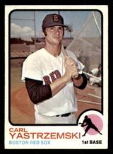 1973 Topps #245 Carl Yastrzemski Excellent  ID: 313756