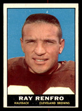 1961 Topps #69 Ray Renfro Excellent+