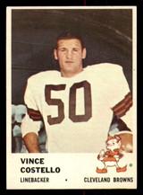 1961 Fleer #16 Vince Costello Ex-Mint