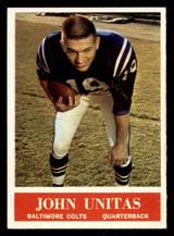 1964 Philadelphia #12 Johnny Unitas Ex-Mint  ID: 313840