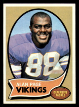 1970 Topps #59 Alan Page Ex-Mint RC Rookie  ID: 313857