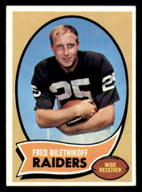 1970 Topps #85 Fred Biletnikoff Excellent+  ID: 313860