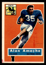 1956 Topps #12 Alan Ameche Excellent  ID: 313863
