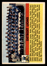 1956 Topps #92 Lions Team Excellent+