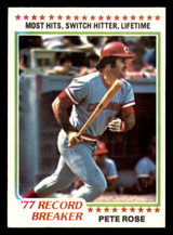 1978 Topps #5 Pete Rose RB Near Mint  ID: 314007