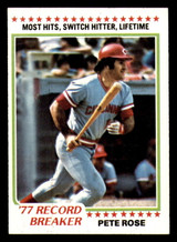 1978 Topps #5 Pete Rose RB Near Mint  ID: 314008
