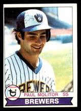 1979 Topps #24 Paul Molitor Excellent  ID: 314057
