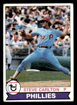 1979 Topps #25 Steve Carlton Very Good  ID: 314059