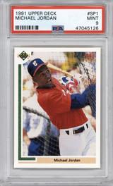 1991 Upper Deck #SP1 Michael Jordan PSA 9 Mint  ID: 314165