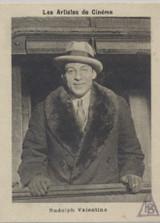 1930 Vache Qui Rit France Cinema Artists Rudolph Valentino Ex-Mt  #*