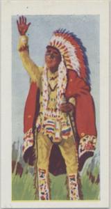 1957 Kane Historical Characters #26/50 Sittling Bull Nr-Mt  #*
