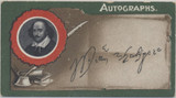 1910Taddy & Co London Autographs Series 1 #17/25 William Shakespeare Ex (RARE)  #*