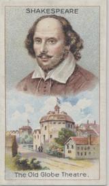 1924 J. Millhoff & Co London Men Of Genius William Shakespeare Nr-Mt  #*