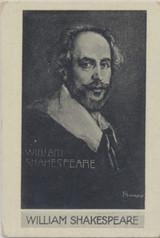 1930 Scerri Malta Prominent People #50/146 William Shakespeare Ex  #*