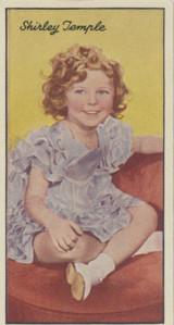 1935 Carreras London Famous Film Stars #44/96 Shirley Temple Ex++  #*