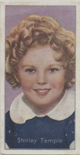 1936 Carreras London Film Stars Florence Desmond #22/50 Shirley Temple Ex++  #*