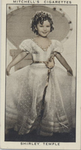 1936 Stephen Mitchell & Son Glasgow A Gallery Of 1935 #26/50 Shirley Temple Ex-Mt  #*