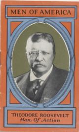 1928 H572 Men Of America #1 Theodore Roosevelt Ex (Booklet)  #*