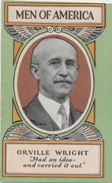 1928 H572 Men Of America #28 Orville Wright Ex (Booklet)  #*