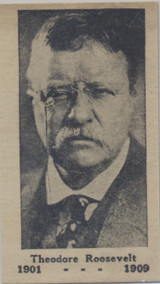 1920s Theodore Roosevelt 1901-1909 Ex-Mt  #*