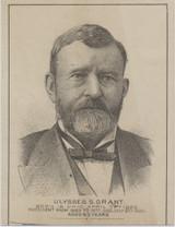 1890's Ulysses S GrantAdv On Back  #*