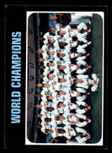 1971 Topps #1 World Champions Orioles Excellent+  ID: 314884