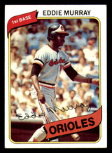 1980 Topps #160 Eddie Murray Excellent+  ID: 315391