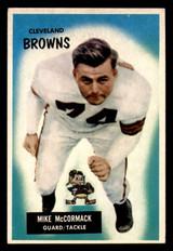 1955 Bowman #2 Mike McCormack Ex-Mint RC Rookie