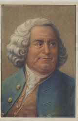 1938 (100) Famous Men Belgium #35 Ben Franklin  #*